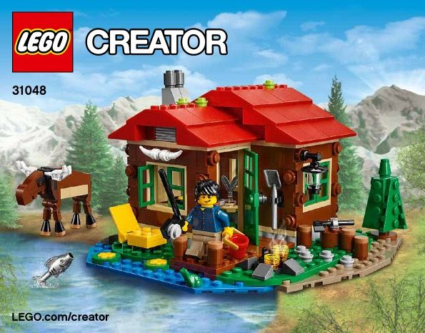 Lakeside Lodge House The Lego Universe Is Real Pinterest Lego