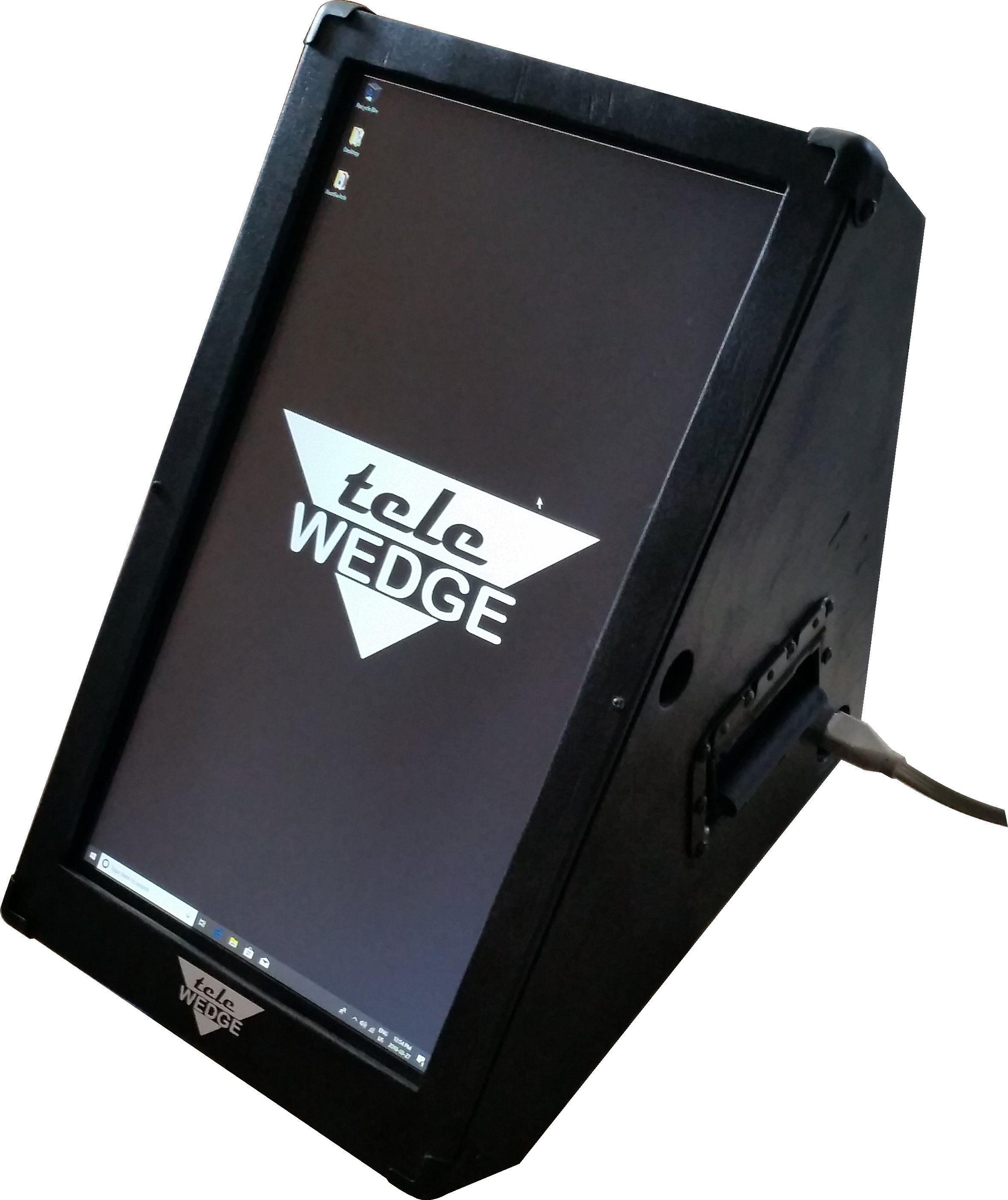 TeleWedge Lyric Teleprompter for iPad AND Samsung users