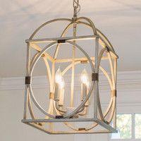 290/Shades of Light - Tropical Repose 2016 - Circle Lattice Hanging Lantern