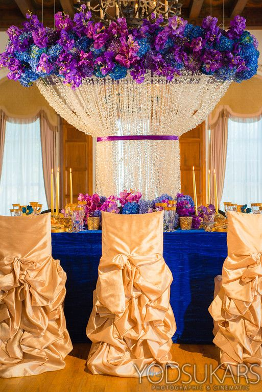 Grace Ormonde Wedding Style Feature Royal Blue Romance Purple