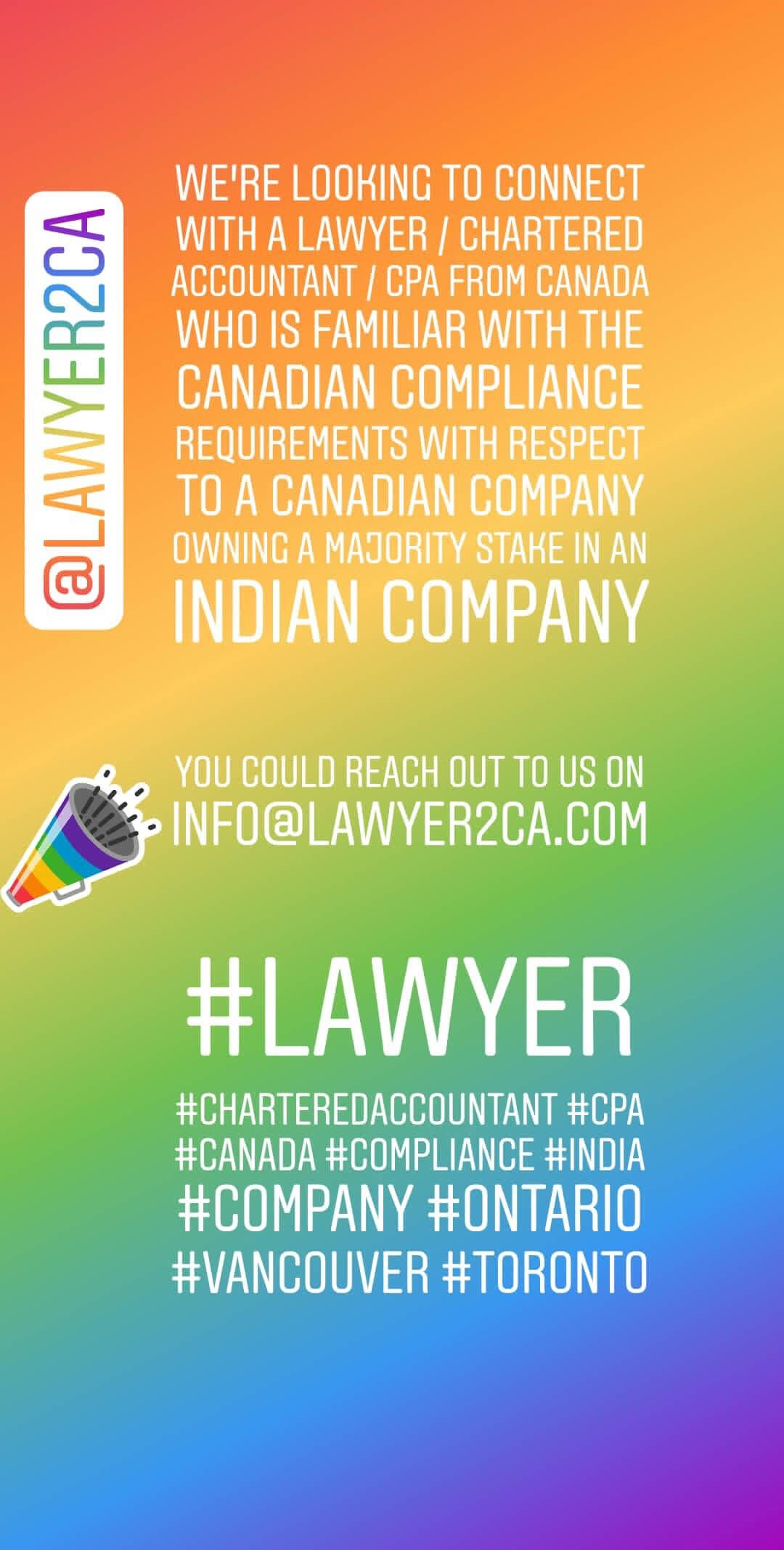 Chartered Accountant Cpa Lawyer2ca S Looking To Connect With A Lawyer Chartered