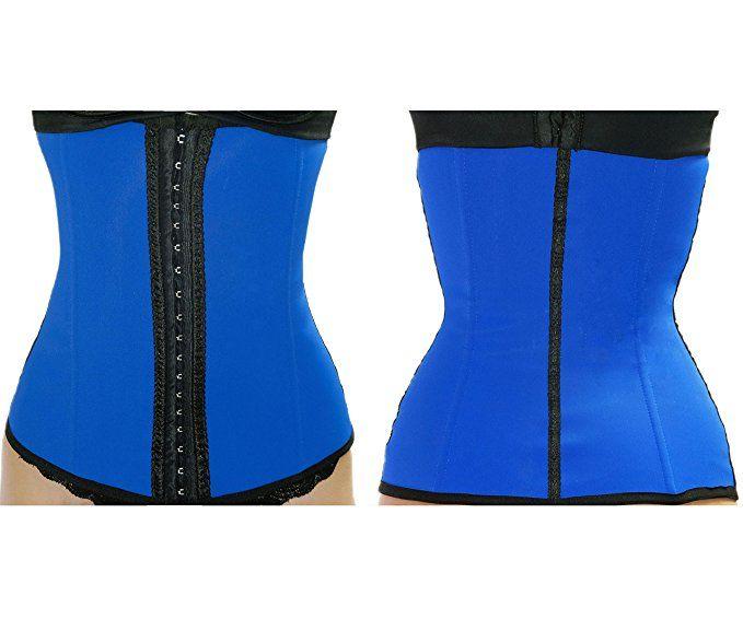 3fc670d17 Ursula Waist Trainer for Weight Loss Latex Workout Cincher Hourglass Corset  XXS-4XL at Amazon Women s Clothing store