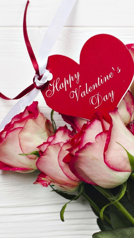 Zyczenia Na Walentynki Tapeta Na Telefon Happy Valentines Day Images Happy Valentines Day Happy Valentine