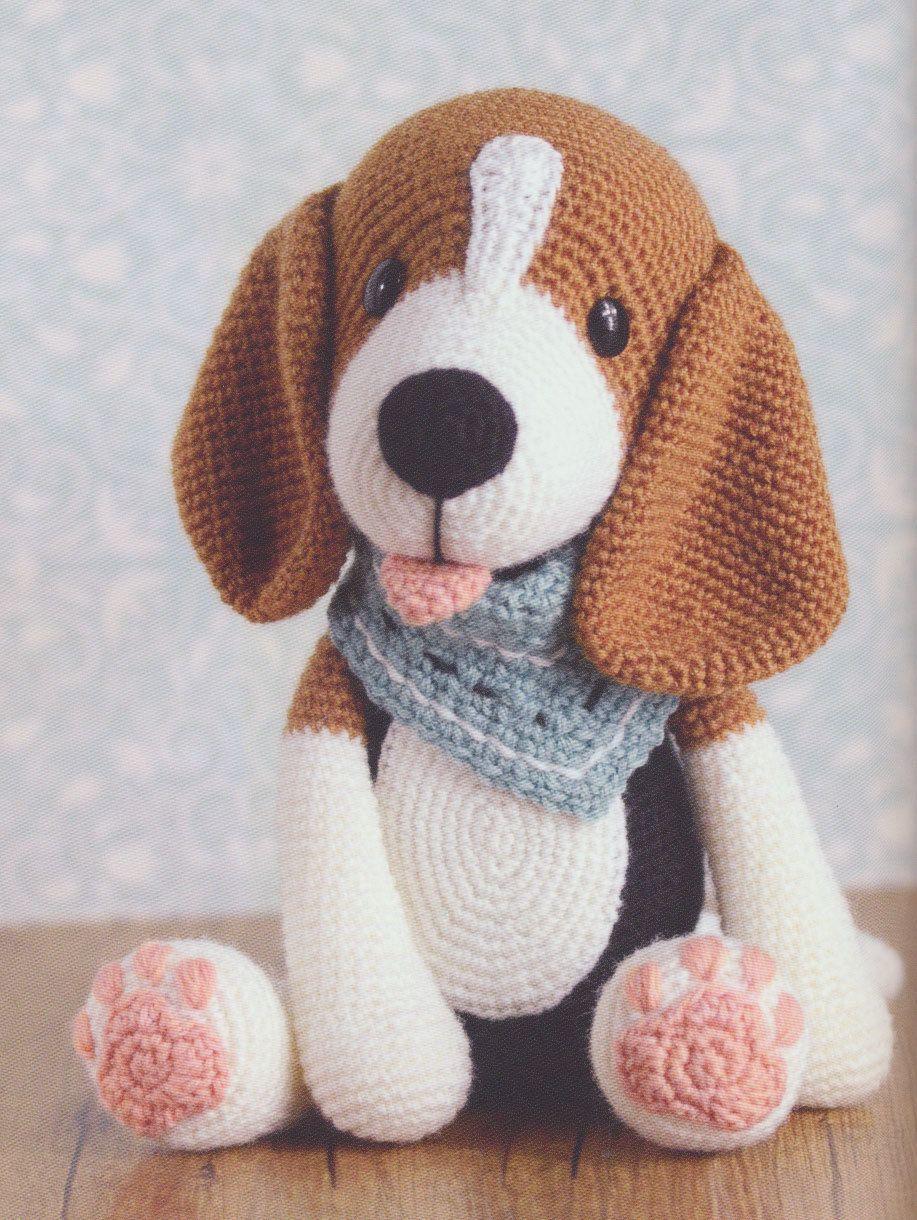 Haakpatroon Beagle Bram Gemaakt Van Lang Yarns Jawoll