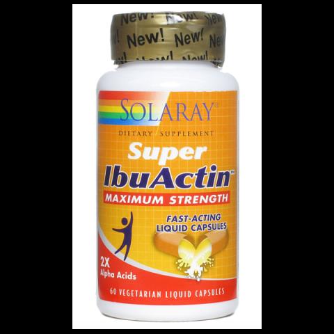 Super IbuActin de Solaray es un complemento nutricional formulado para ayuda a aliviar los procesos inflamatorios que cursan dolor. Con un 10% de descuento!
