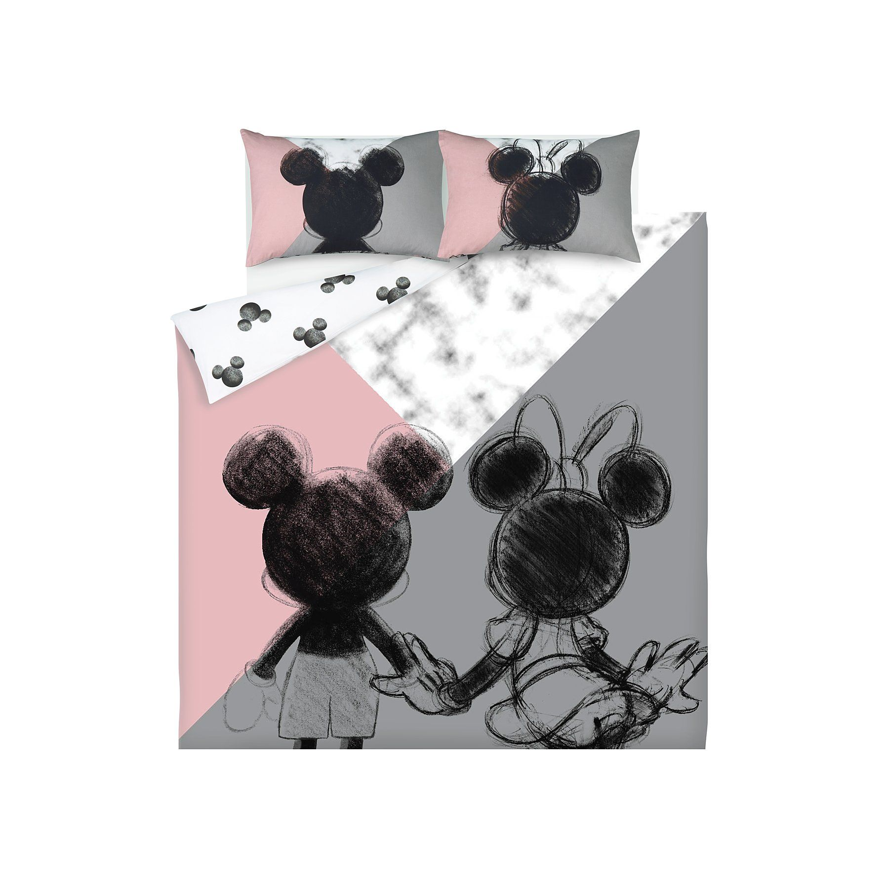 Disney Mickey and Minnie Mouse Easy Care Reversible Duvet