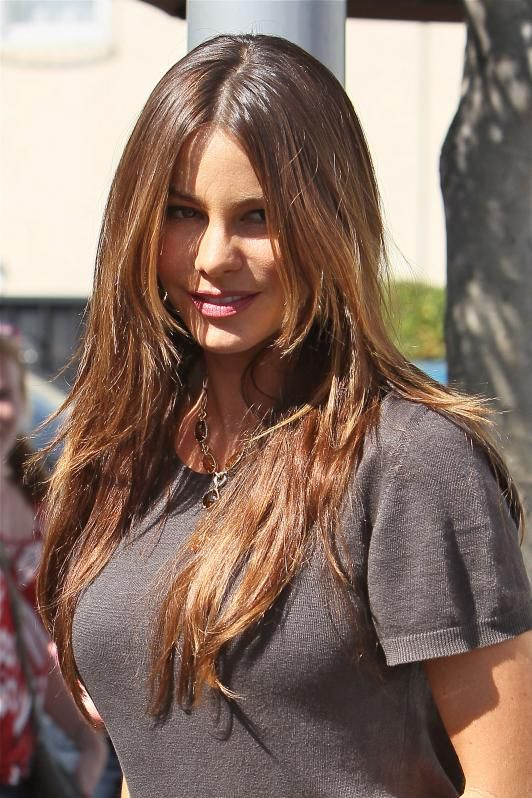 Sofia Vergara Maybe Too Light New Hair Color Pinterest