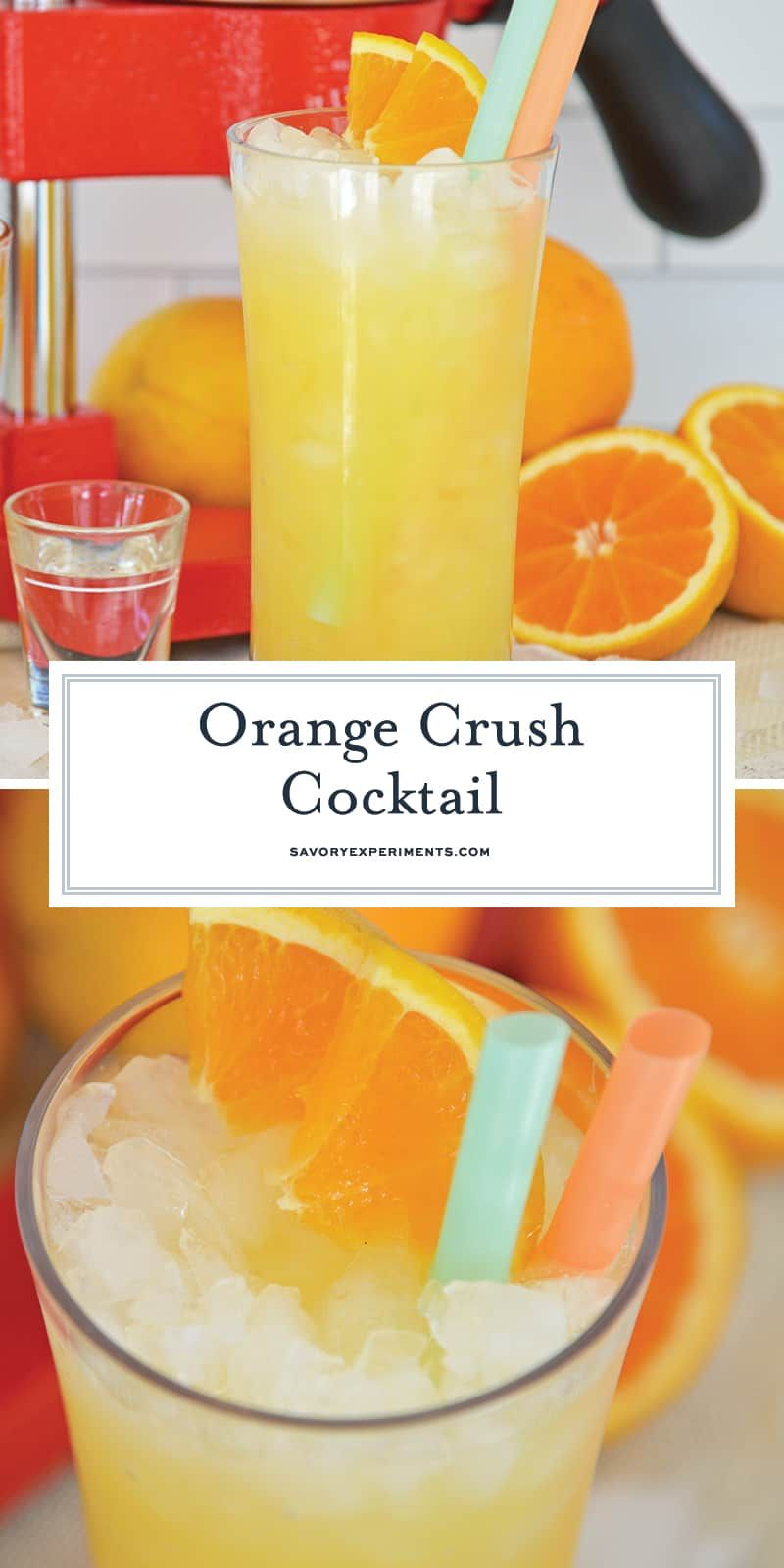 Easy Instructions For The Best Orange Crush Cocktail Recipe Using Fresh Oranges Vodka And Spe Orange Crush Cocktail Orange Crush Recipe Orange Juice And Vodka