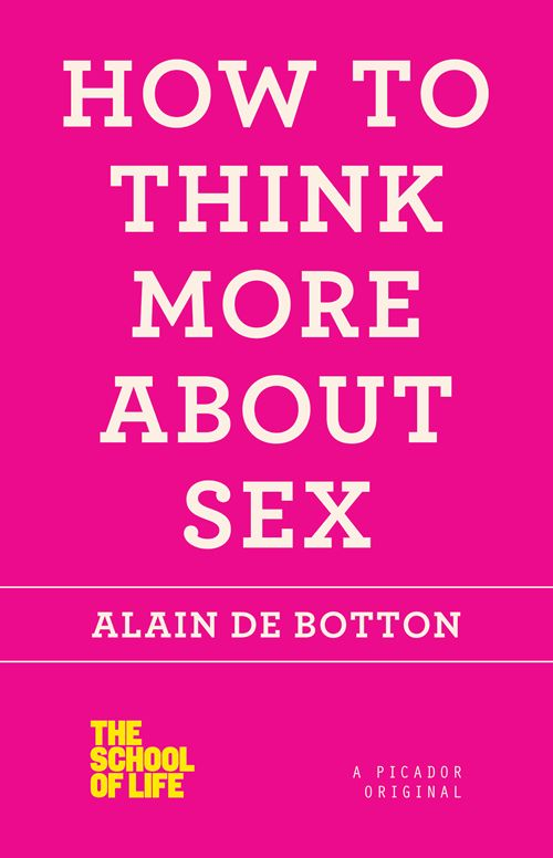 Just finished this. It was fascinating.    How to Think More about Sex by Alain de Botton