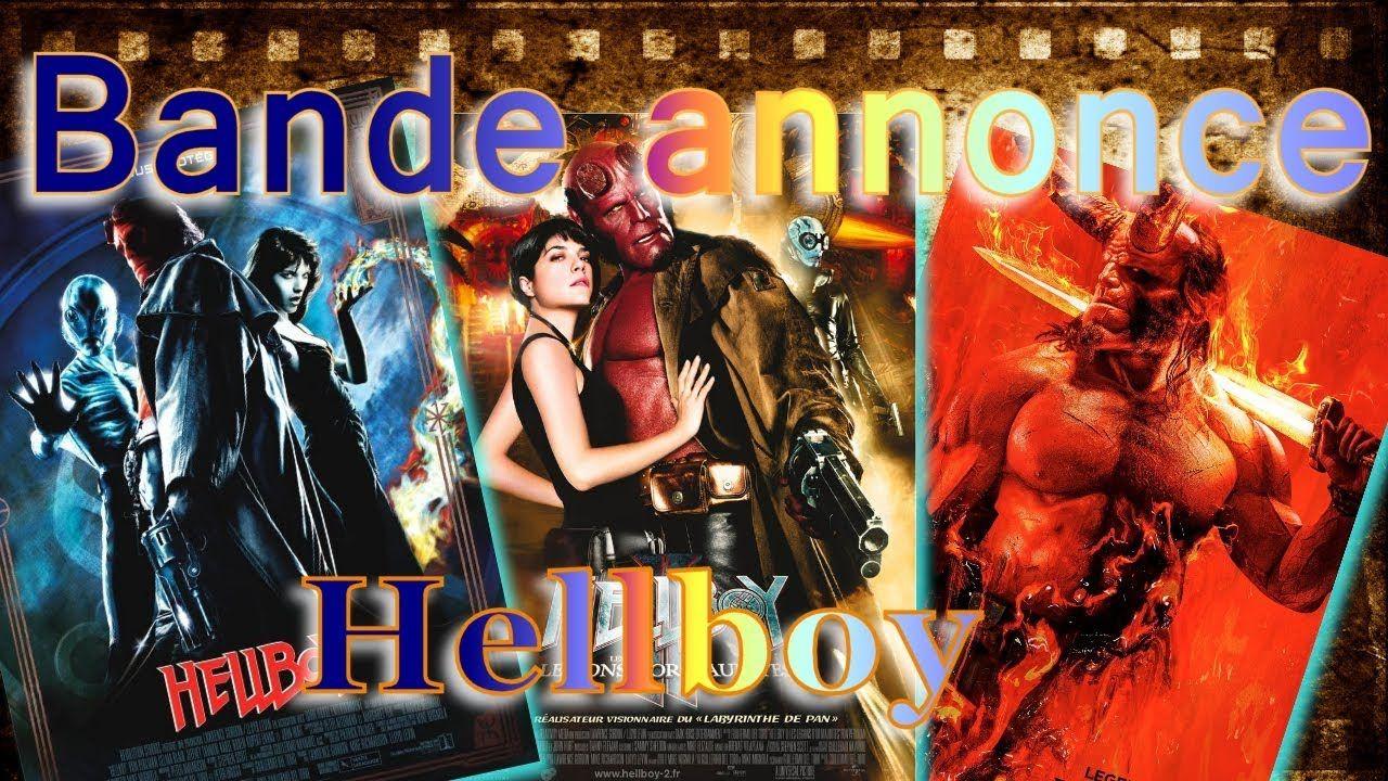 BANDE ANNONCE HELLBOY 1, 2 et 3 vf Bande annonce