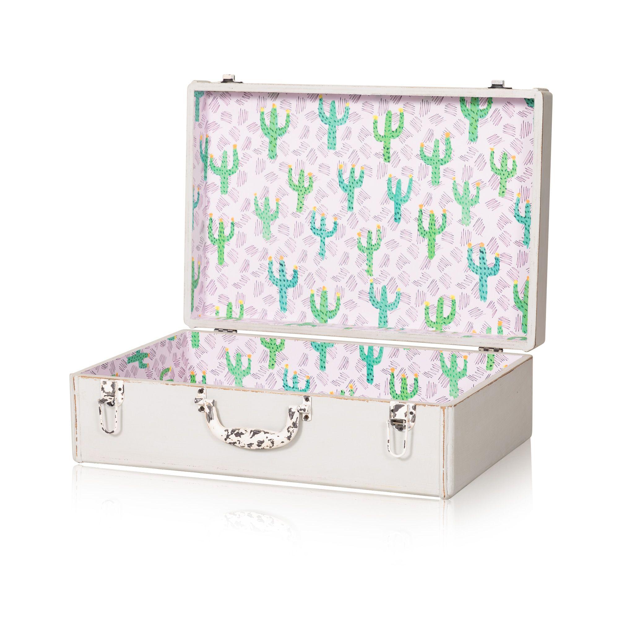 Buy The Medium Loft Decorative Storage Suitcase At Oliver Bonas. Enjoy Free  UK Standard Delivery