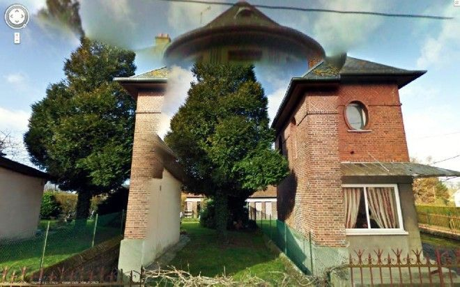 These Glitches From Google Maps Are Worthy of an Art