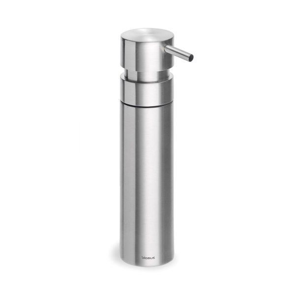 """Soap Dispenser Brushed (Stainless Steel) (6.7""""H x 1.5""""W x 1.5""""D)"""