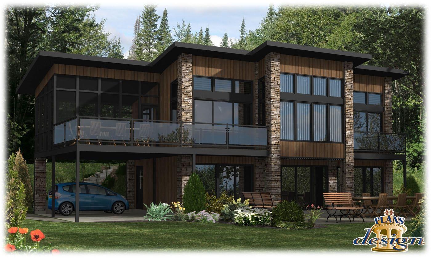 781 - Le Hudson Bungalow Chalet Handicapé Maison secondaire Plain ...