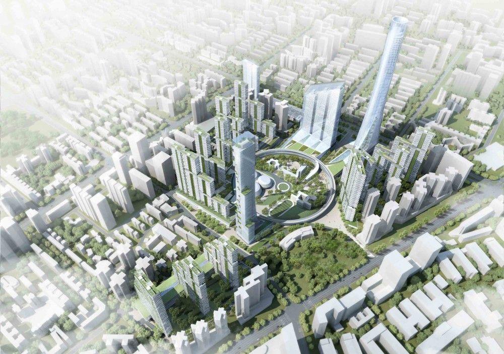 Hanking Nanyou Newtown Urban Planning Design Proposal Jaeger And