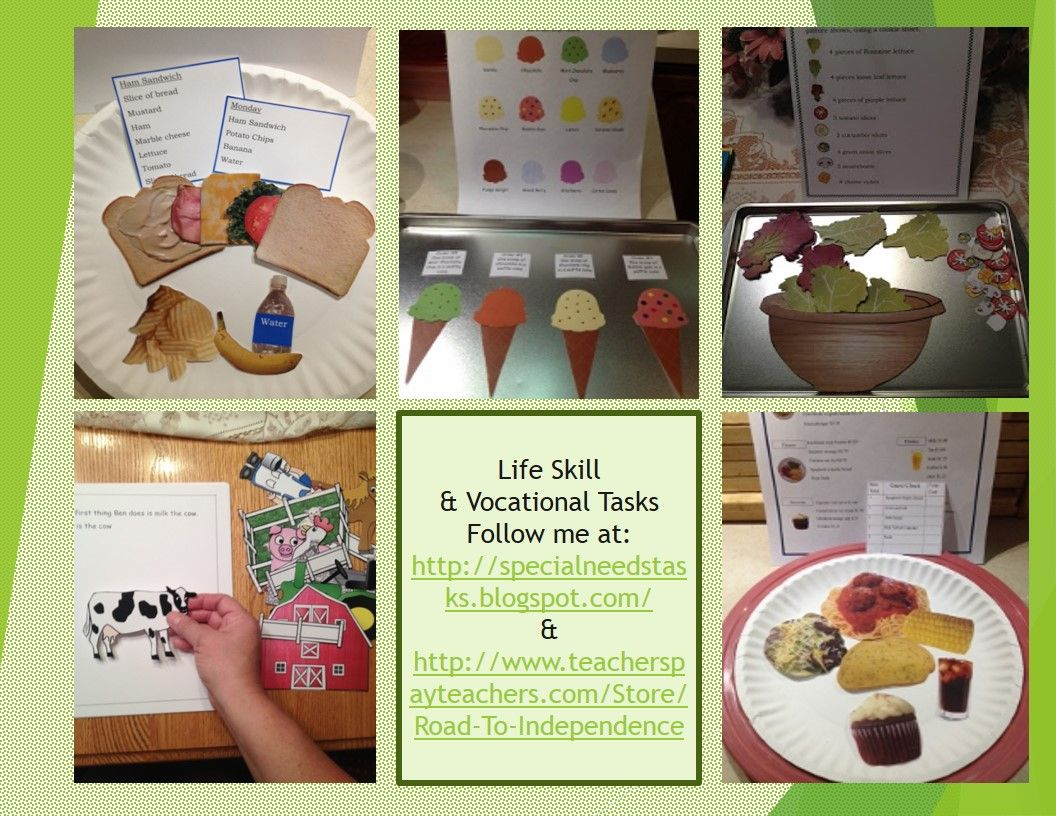 Life Skill And Vocational Skill Task Sites