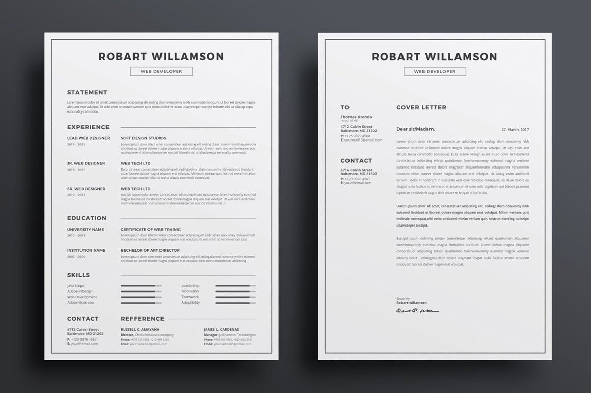 Resume Cv Ad Affiliate International Iso Paper Page Resume