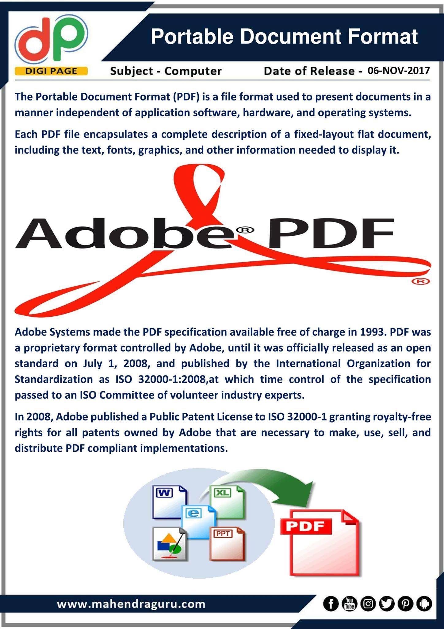 Pdf Adobe Portable Document Format Gratis En