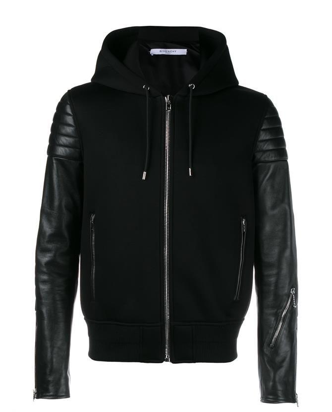 Givenchy Designer Jackets For Men Leather Hoodie Leather Jacket Men