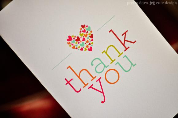 Printable Thank You Card Free Printables Pinterest Thank You