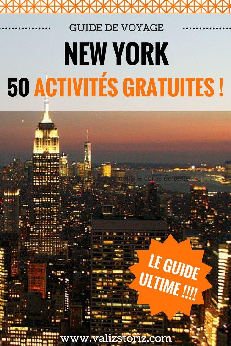 50 activit s gratuites new york le guide ultime valiz storiz le blog voyage new york. Black Bedroom Furniture Sets. Home Design Ideas