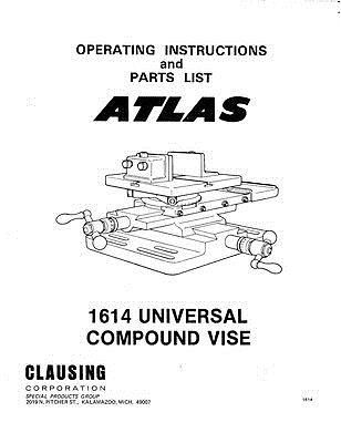Manuals and Guides 171208: C.1970 Atlas 1614 Universal