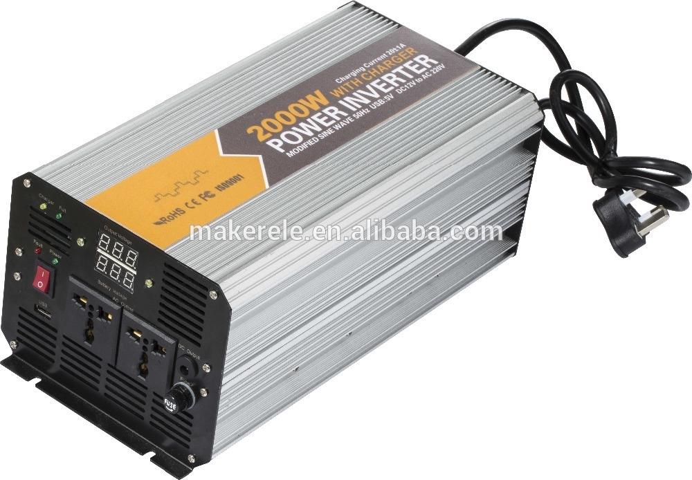 134.42$  Watch now - http://ali60y.worldwells.pw/go.php?t=32513579037 - MKM2000-481G-C off grid 2000w 48vdc to 120vac power inverter 2000watt electricity power inverter home inverter systems