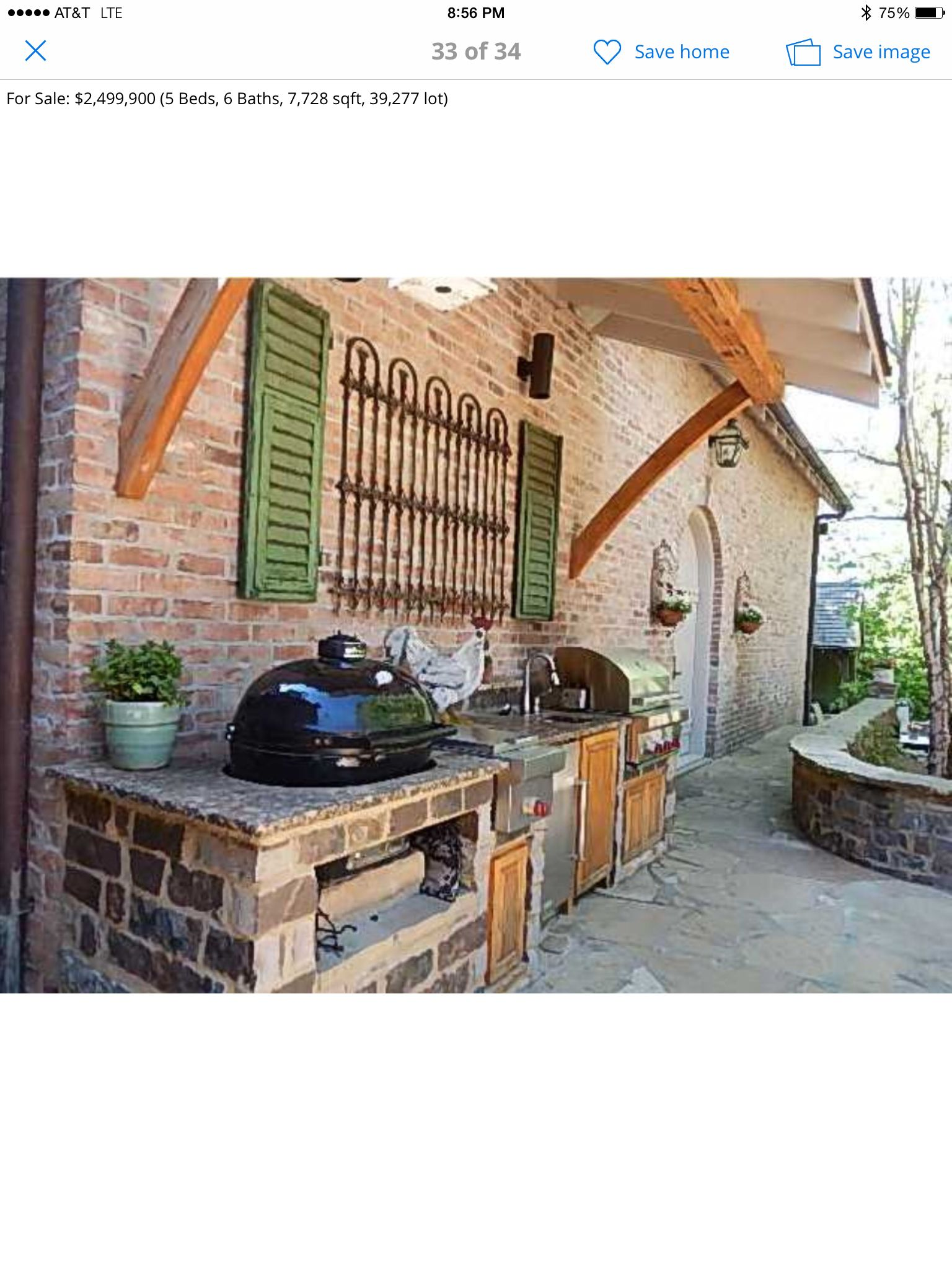Easy outdoor grill station   Patio, Outdoor grill, Outdoor ... on Patio Grill Station id=85743