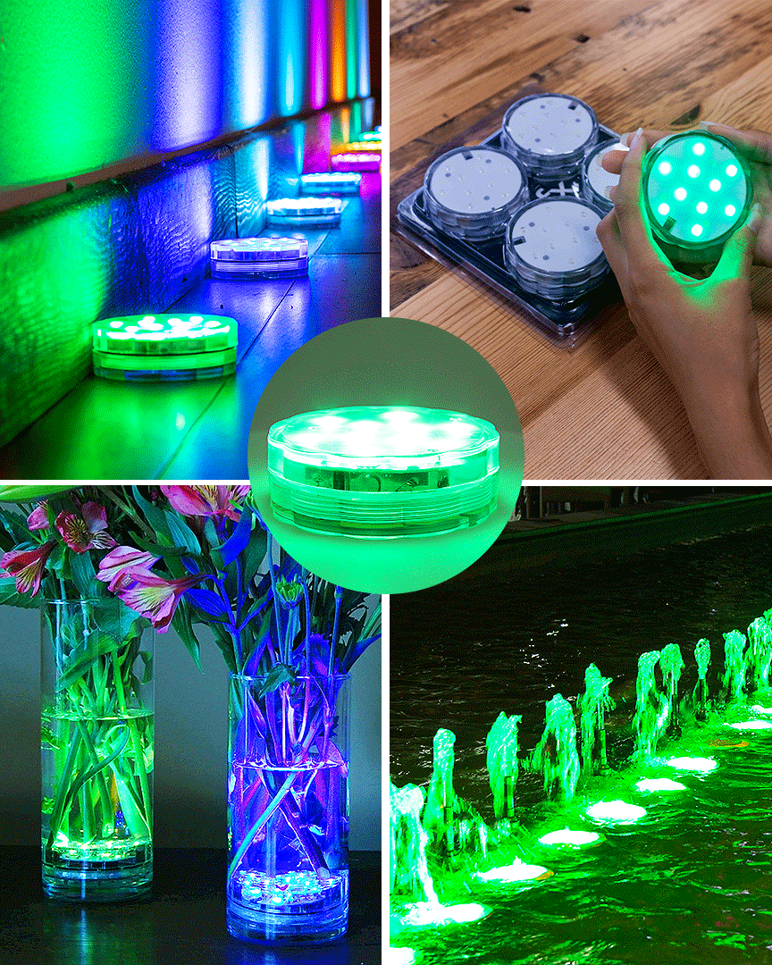 Lumn8 Efx Led Waterproof Remote Control Accent Lights In 2020 Led Lights Waterproof Led Lights Accent Lighting