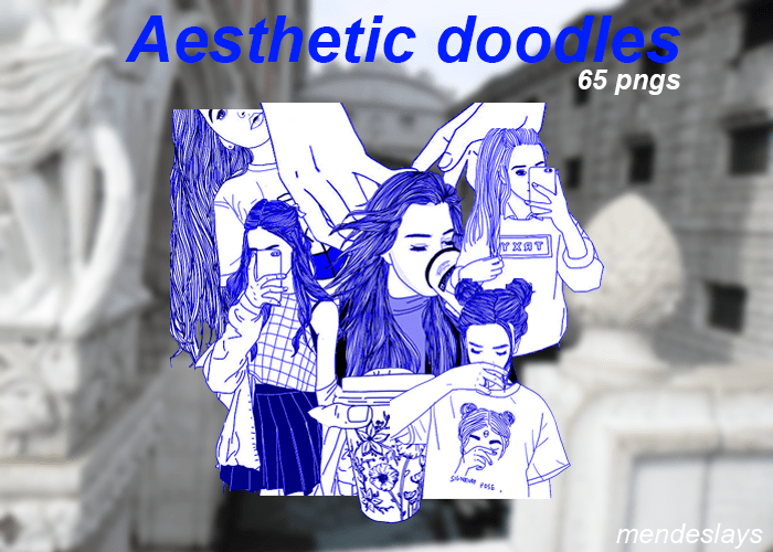 21 Free Aesthetic Png Packs Doodle Png Aesthetic Black And Gold Aesthetic