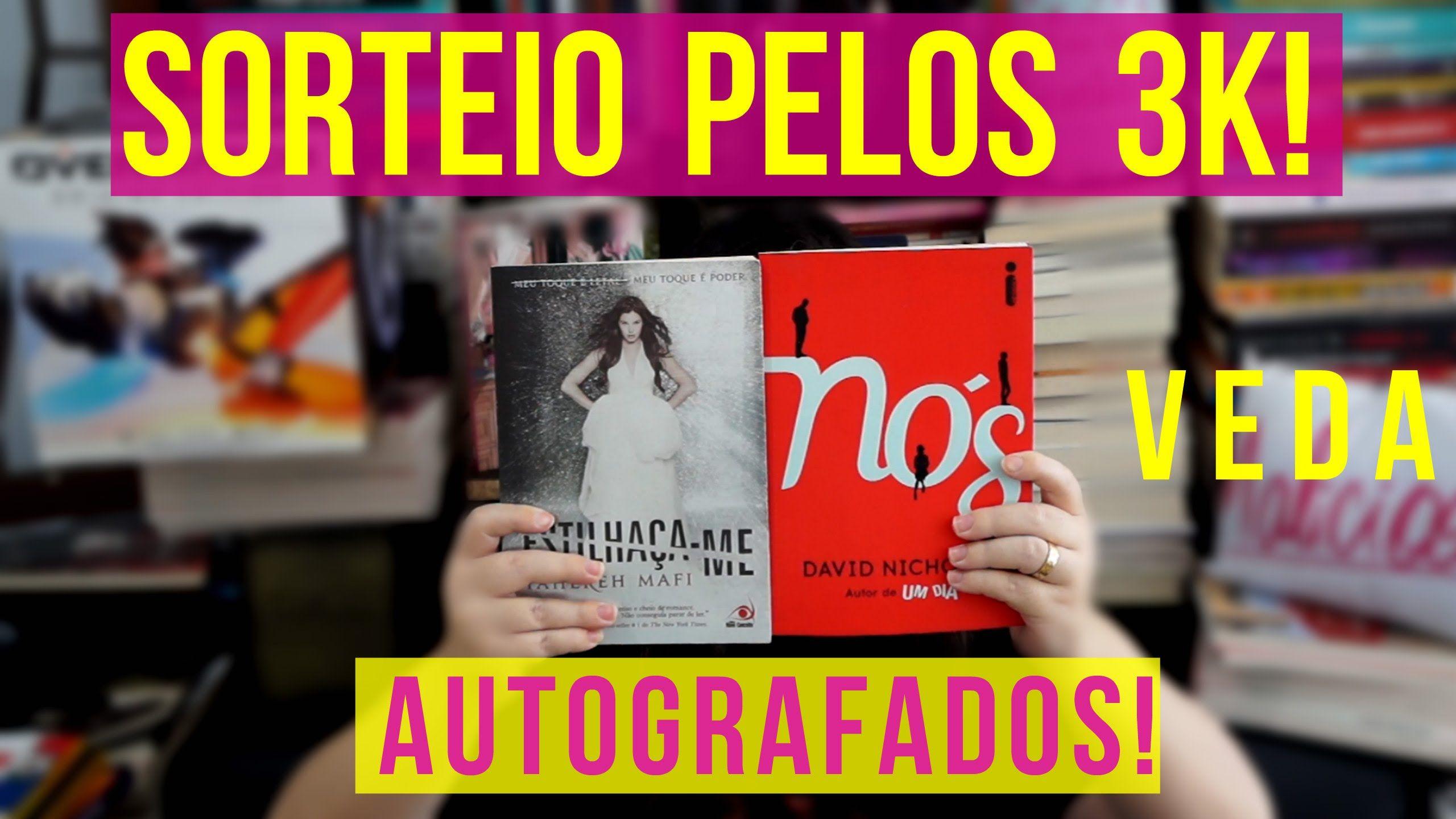 SORTEIO DE LIVROS GRINGOS AUTOGRAFADOS - 3K de Inscritos! VEDA 9 #2DB