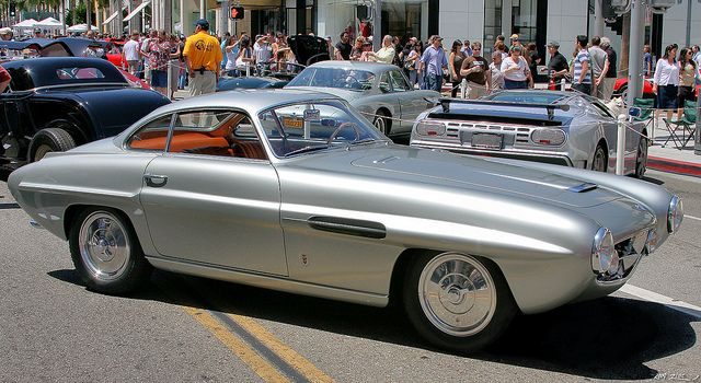 1954 Fiat 8V Ghia Supersonic Coupe - silver - fvr