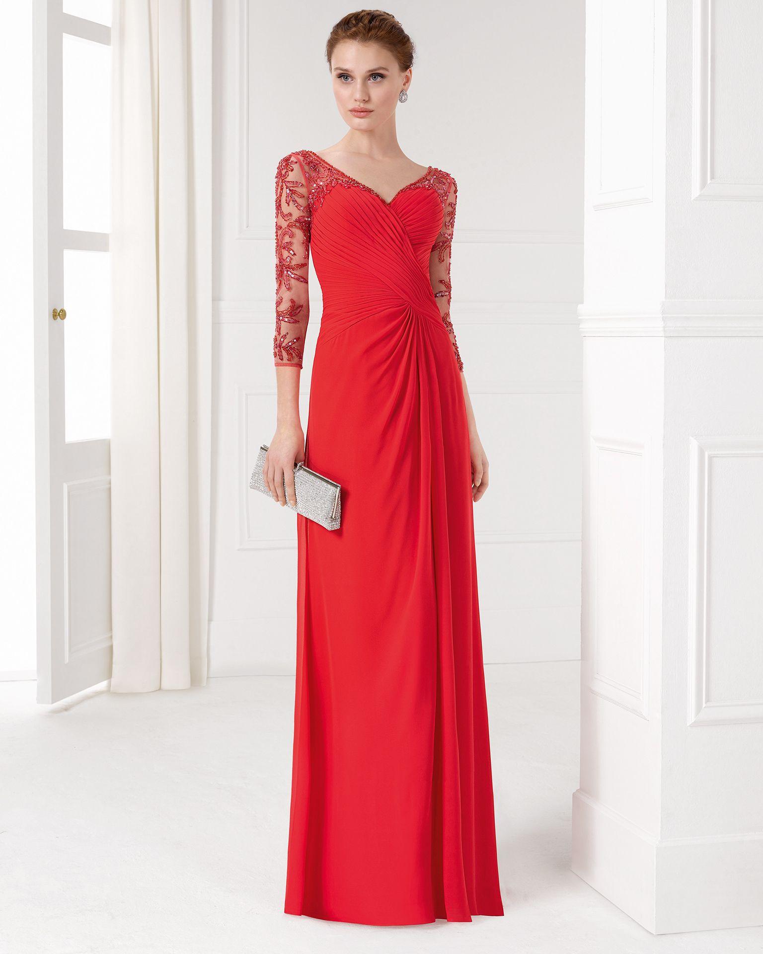Affordable Wedding Gowns In Manila: Vestido De Cerimónia De Chiffon Com Brilhantes E