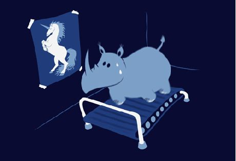 *Always follow your dreams!*   We are getting in shape for our Shani Zambia Charity Party on friday!   #charity #party #rhino #unicorn #dream #big #redrhino