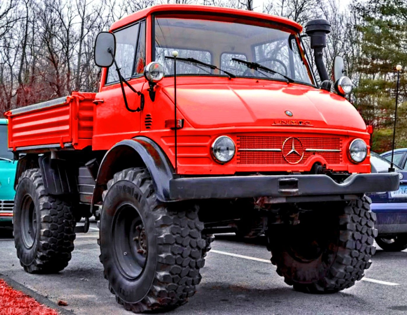 1972 Mercedes Benz Unimog 4x4   Unimog, Mercedes truck ...