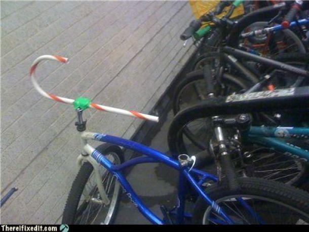 There I Fixed It With Images Bike Hacks Handlebar Bike