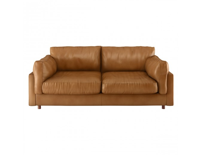 Excellent Elkin Mid Tan Leather 3 Seater Sofa Glebe In 2019 Tan Caraccident5 Cool Chair Designs And Ideas Caraccident5Info