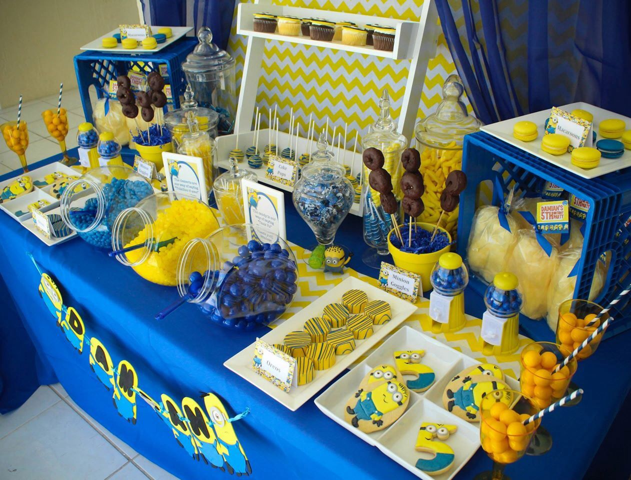 Despicable me minions party minion birthday party