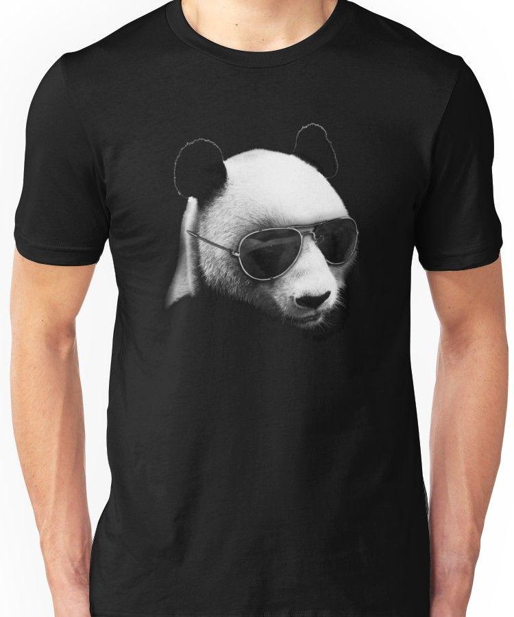 c680d8a7a46 Aviator Panda Bear Unisex T-Shirt