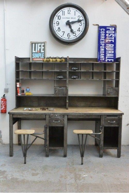 Bureau De Poste Vers 1960 Bureau De Poste Meuble De Metier Mobilier De Salon