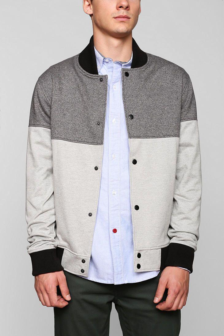 Charles 1 2 Colorblock Baseball Jacket Urban Outfitters With Images Sick Clothes Baseball Jacket Mens Jackets