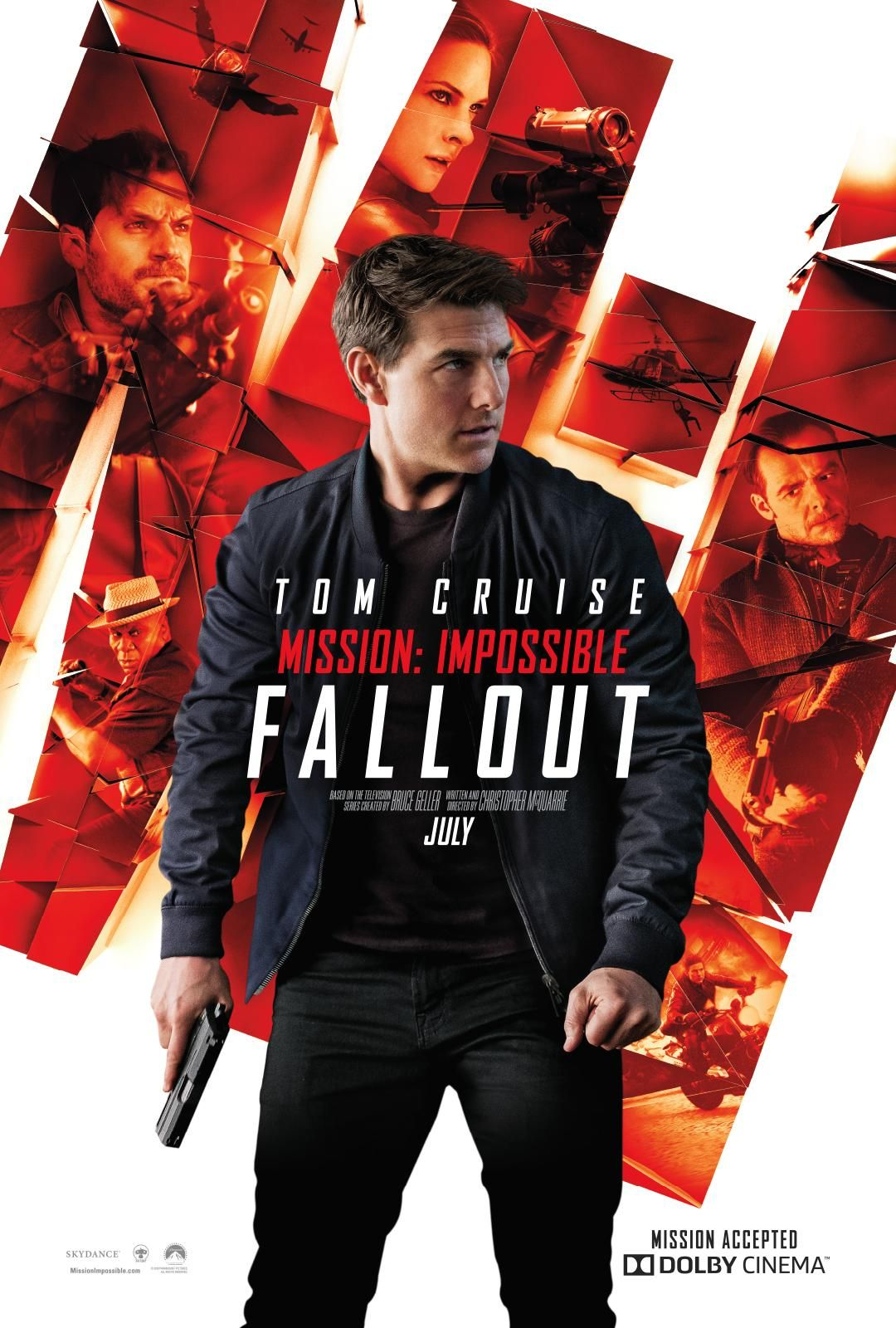 Mission Impossible 6 Fallout New Poster And Tv Spot Https Teaser Trailer Com Movie Missi Fallout Movie Mission Impossible Movie Mission Impossible Fallout