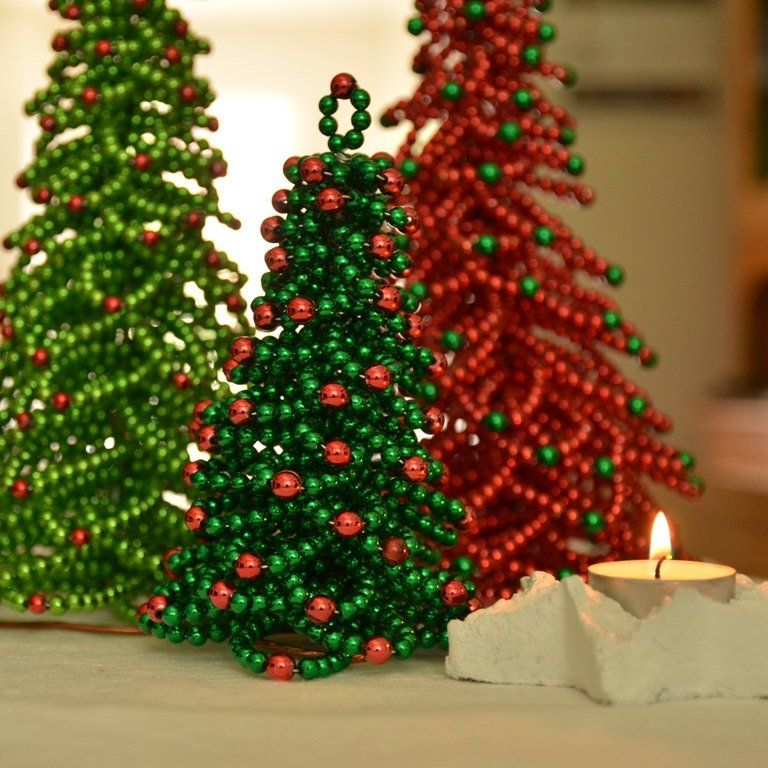 Chritmas Tree Beading Pattern Christmas Tree Tutorial Etsy - dollar general christmas decorations
