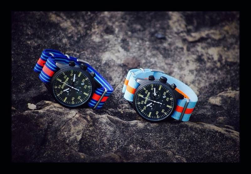 Gulf Racing and Martini watch band colours   ideas   Watch ...