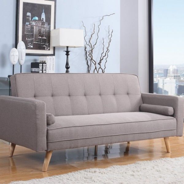 Swell Jamestown 109Cm Grey Fabric Sofa Bed In 2019 Furniture Forskolin Free Trial Chair Design Images Forskolin Free Trialorg