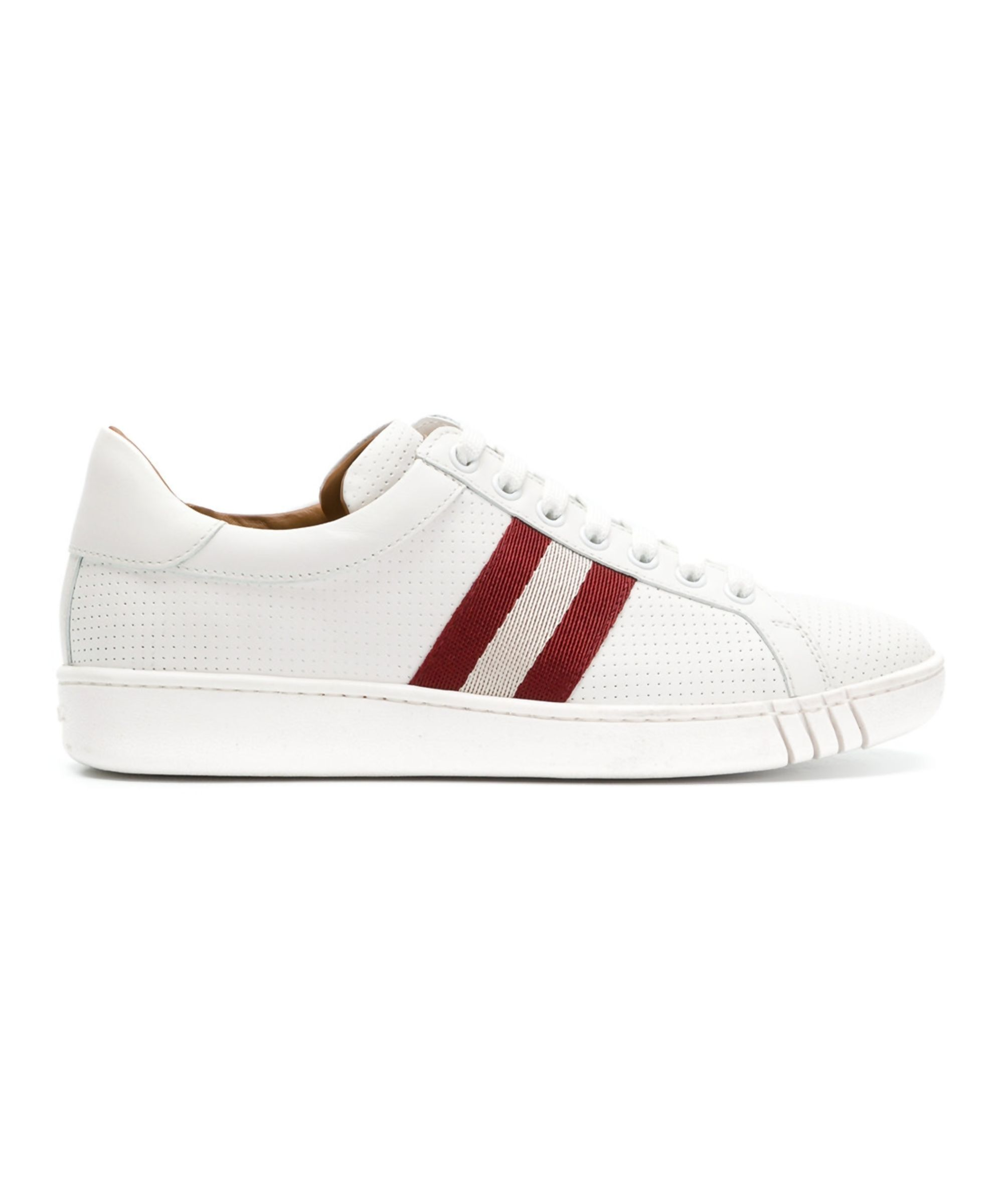 Bally Women's White Leather Sneakers
