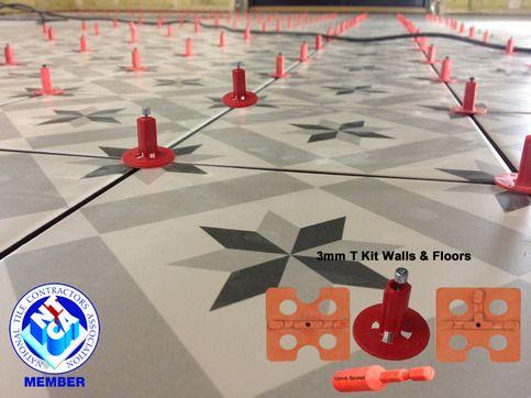 atr tile leveling system 3mm t shape