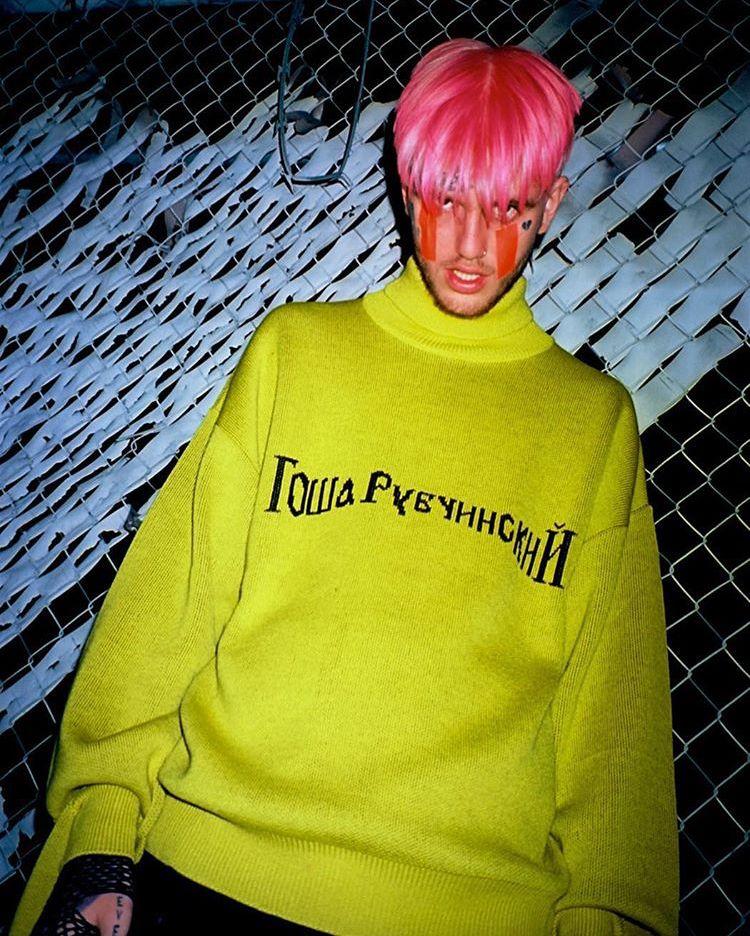 Lil Peep Aesthetic Pink