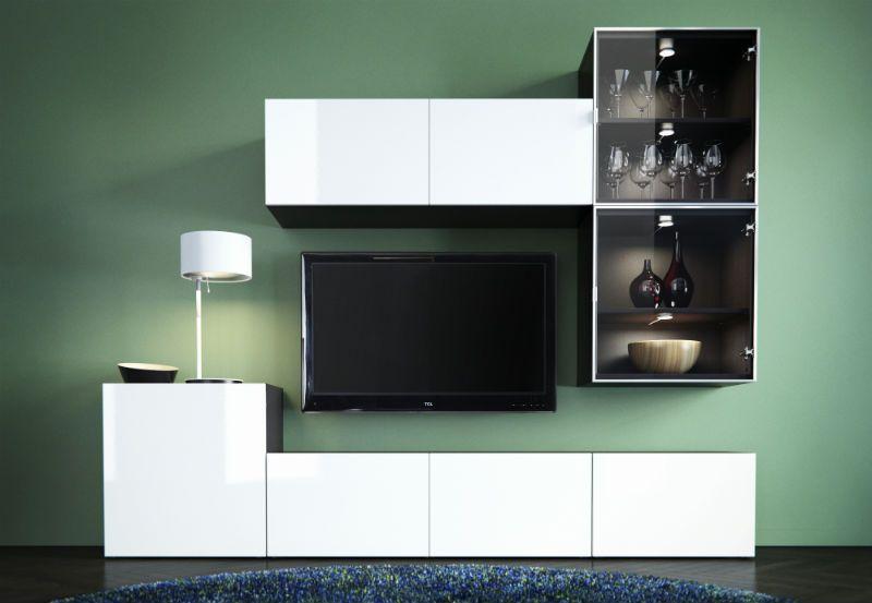 die besten 25 tv schr nke ideen auf pinterest fernsehspeichereinheit fernseher f r. Black Bedroom Furniture Sets. Home Design Ideas