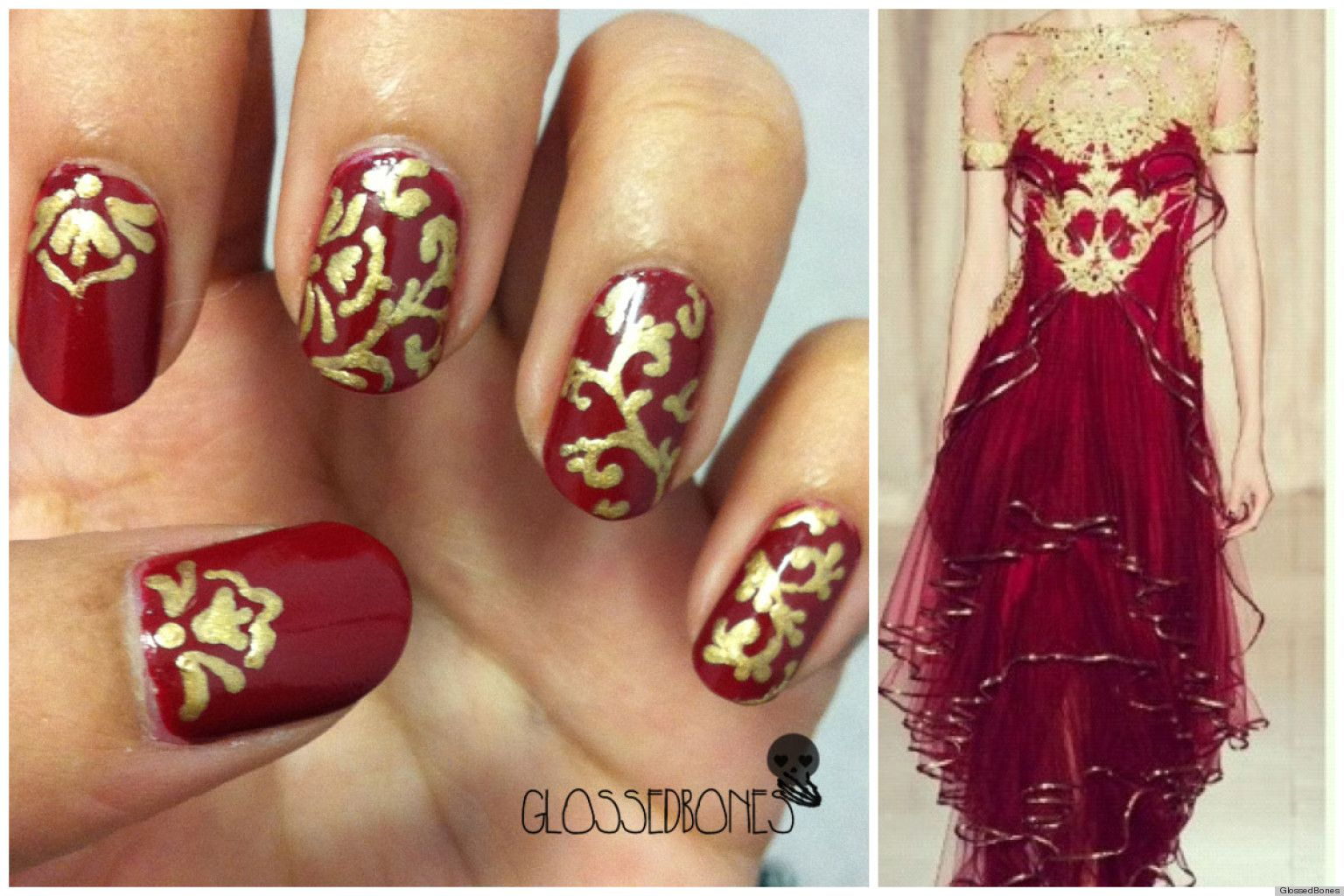 PHOTOS: Marchesa Nail Art And More Awesome Manicures | Marchesa ...